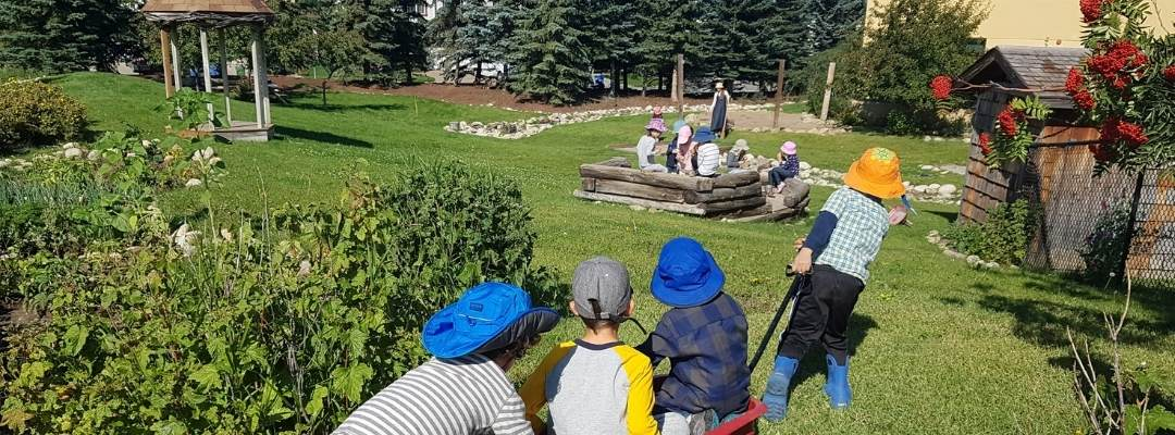 Calgary Waldorf School Kindergarten provides a gentle transition into a more structured learning environment.